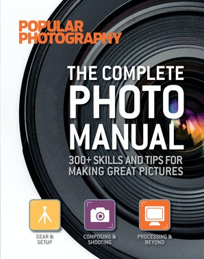 COMPLETE PHOTO MANUAL (POPULAR PHOTOGRAPHY) Hardcover  by POPULAR PHOTOGRAPHY MAGAZ, EDITORS OF