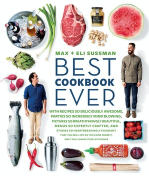 The Best Cookbook Ever Paperback  by Max and Eli Sussman
