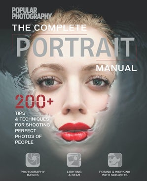 COMPLETE PORTRAIT MANUAL Flexicover  by THE EDITORS OF POPULAR PHOTOGRAPHY