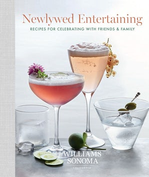 NEWLYWED ENTERTAINING Hardcover  by WILLIAMS SONOMA,