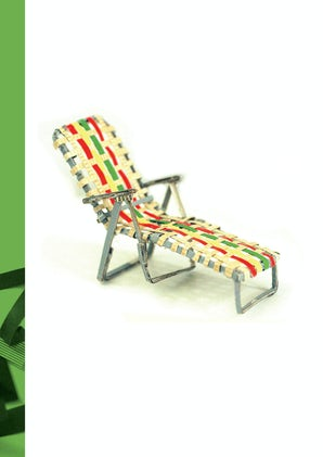 FROM SCRAPS JOURNAL: CHAISE LOUNGE CHAIR Paperback  by RICCI, LYDIA