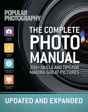 COMPLETE PHOTO MANUAL (REVISED EDITION) Hardcover  by THE EDITORS OF POPULAR PHOTOGRAPHY