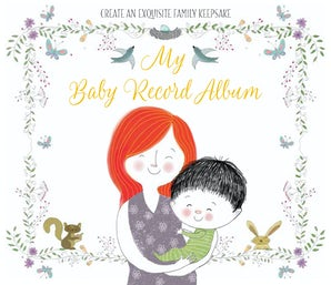 My Baby Record Album Hardcover  by BlueStreak Books