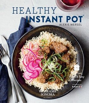 Healthy Instant Pot Hardcover  by Alexis Mersel
