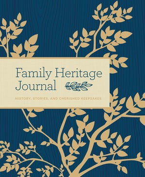 Family Heritage Journal Hardcover  by Bluestreak