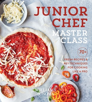 Junior Chef Master Class Hardcover  by Williams Sonoma Test Kitchen