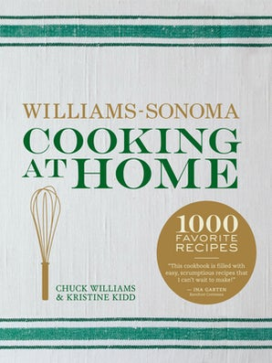 COOKING AT HOME (WILLIAMS-SONOMA) Hardcover  by WILLIAMS, CHUCK